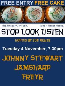 Stop!Look!Listen! Poster