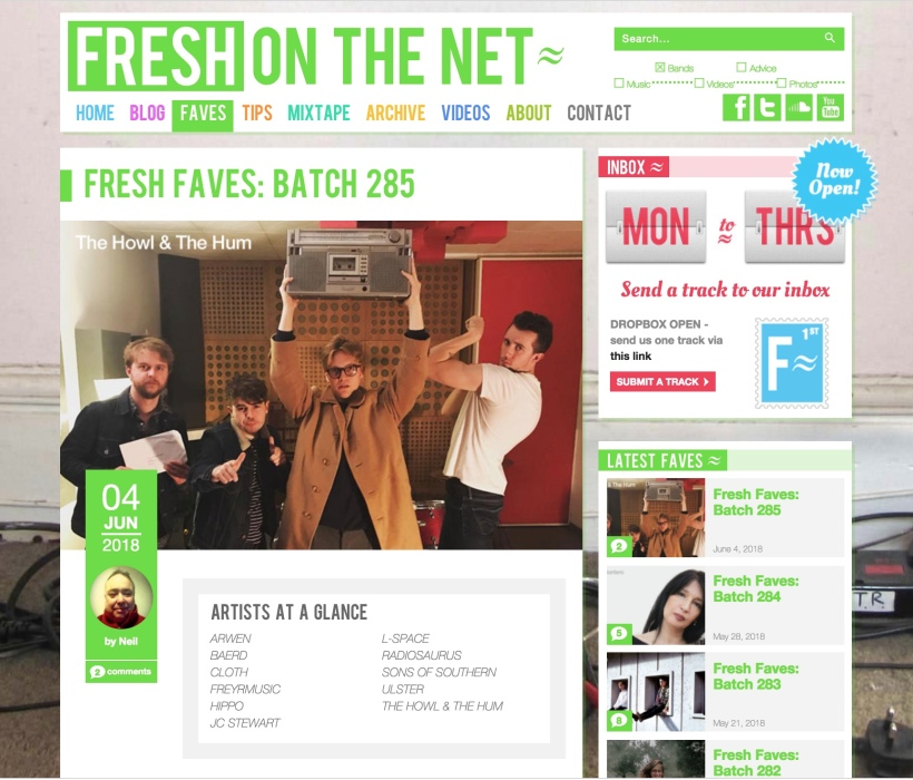 Fresh Faves